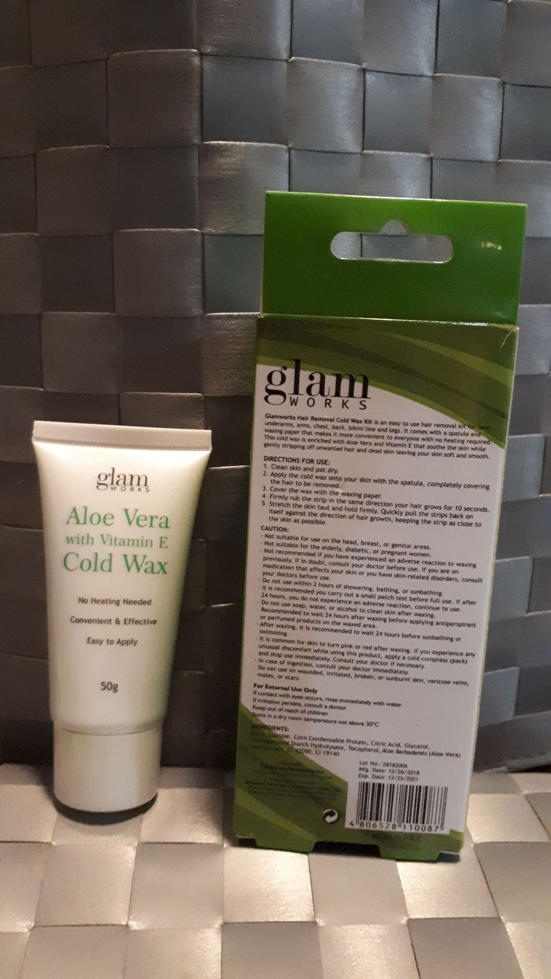 Glam Works Hair Removal Cold Wax Kit Lazada Ph