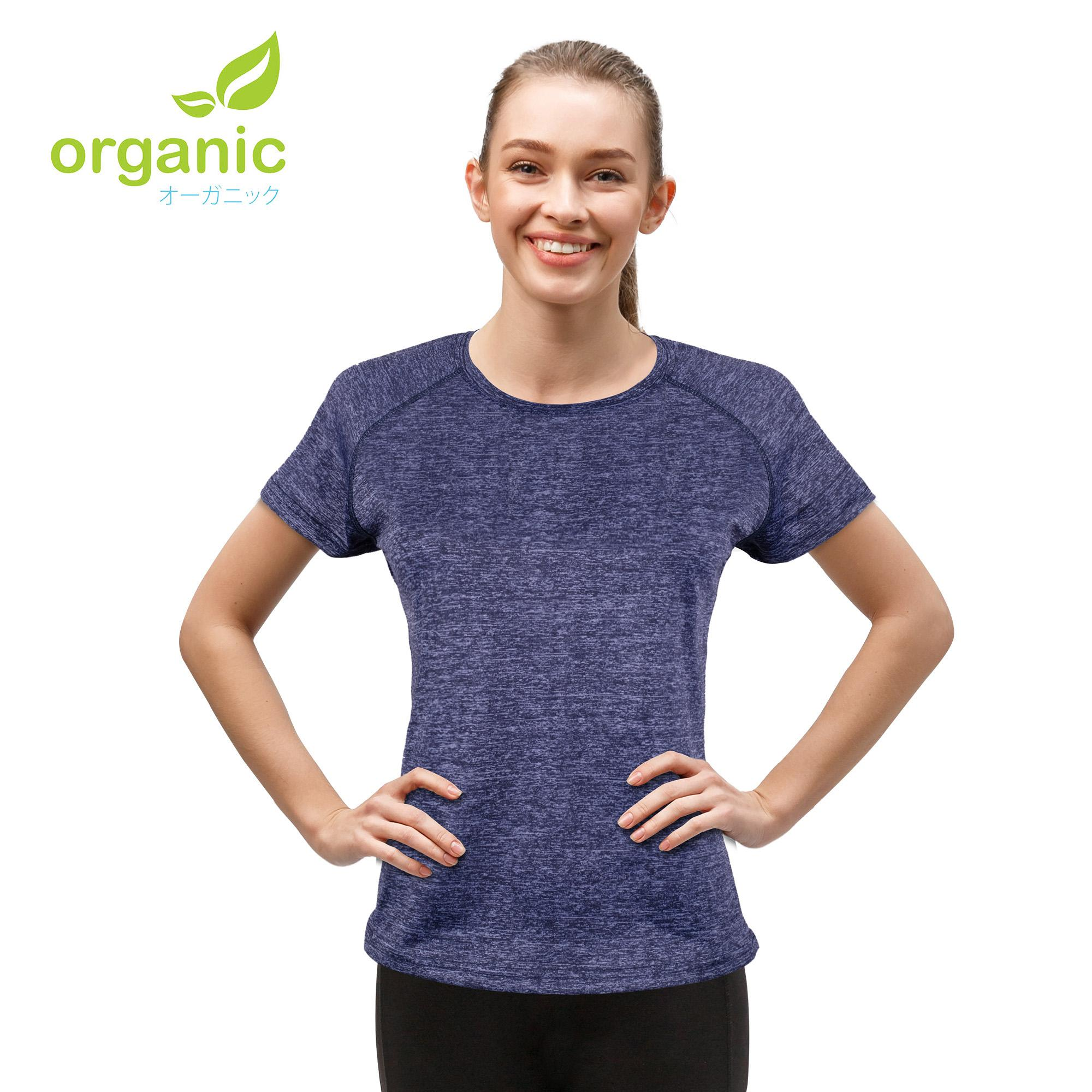 Organic Ladies Cool Gear Active Sports Wear Shirt Gym Training Dry Dri Fit  Fitness Gym Shirt Athletic Dry Fit Shirt For Running Jogging Yoga Workout