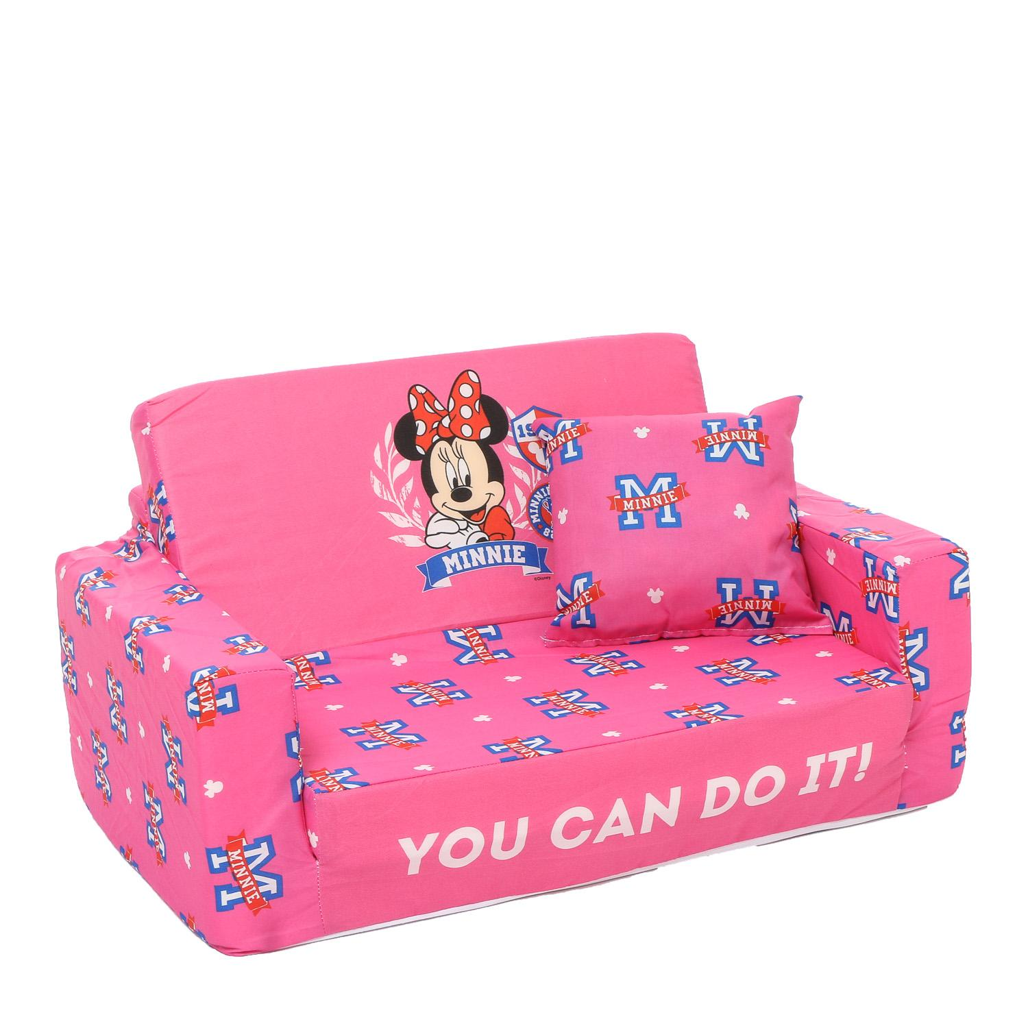 Uratex Kiddie Sit And Sleep Disney Minnie Mouse Convertible Bed By The Sm Store.