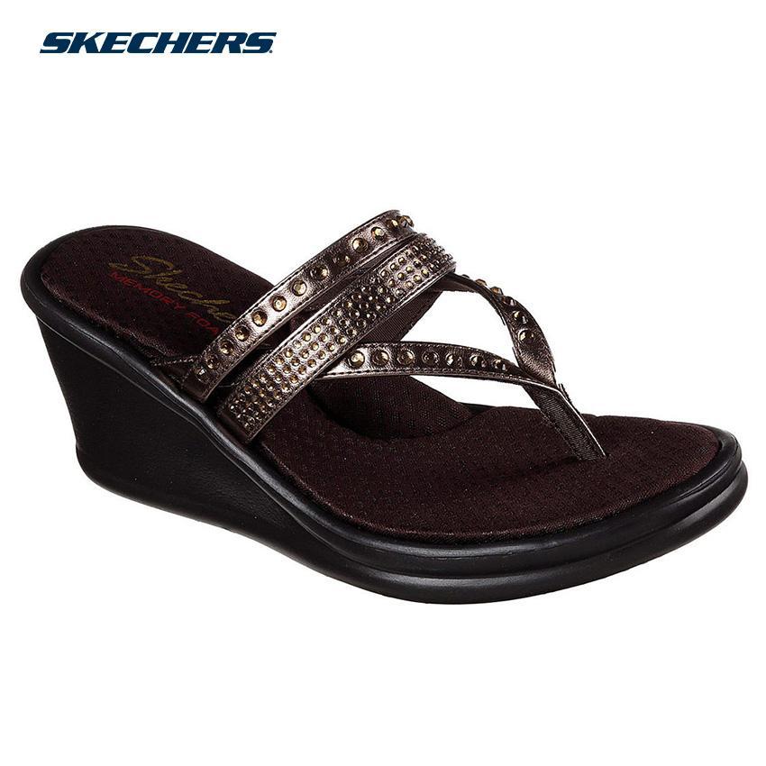 29eece6e2b87 Skechers Women Rumblers - Famous Sandals - Fashion Footwear 38559-BRZ  (Bronze)