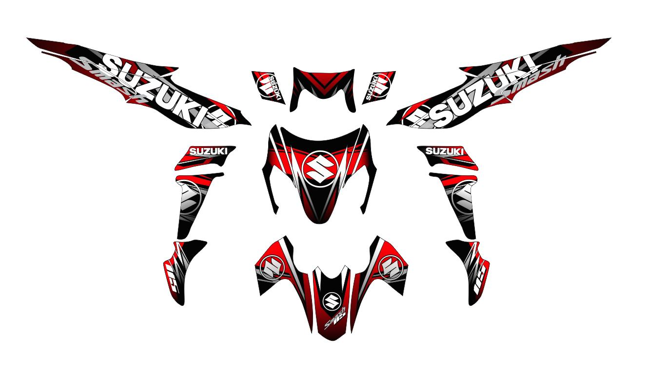 Decals and stickers for suzuki smash 115 lazada ph