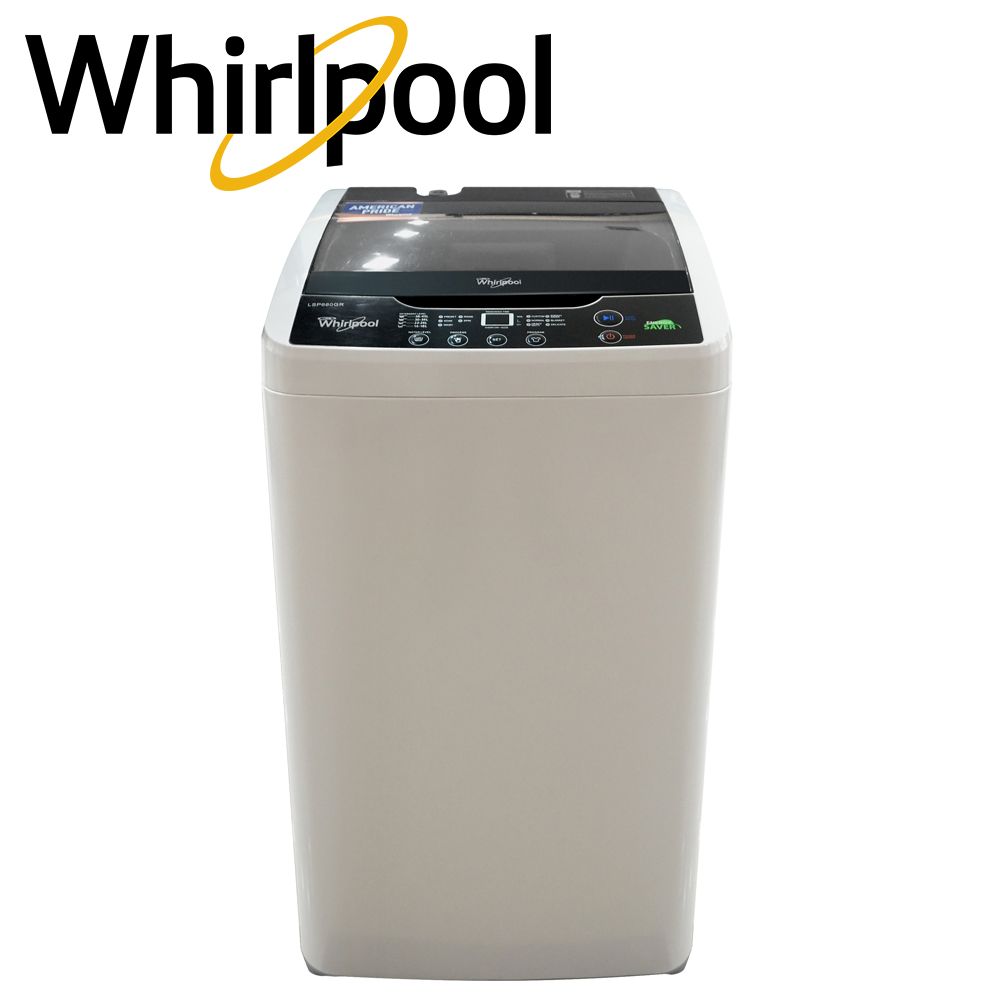 Whirlpool 6.8 kg Top Fully Auto Washing Machine LSP680GR (Gray) | Lazada PH