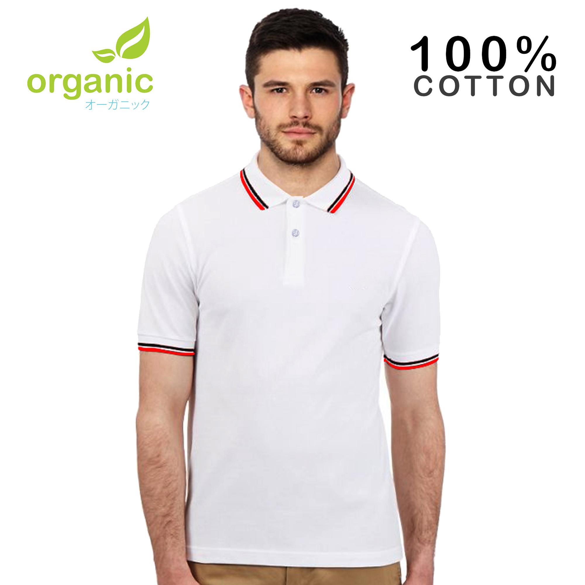 e310a785fb49 Organic Mens Tipped Pique Polo Shirt Tees t shirt tshirt shirts tshirts tee  tops top for