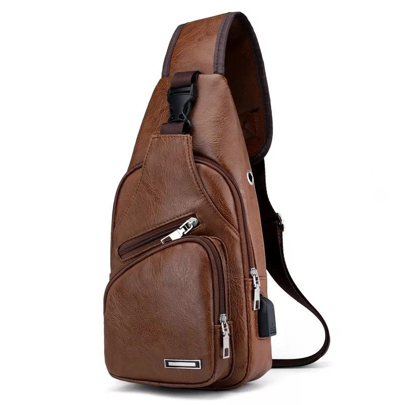 MumuMens chest cross body bag #7003 image on snachetto.com