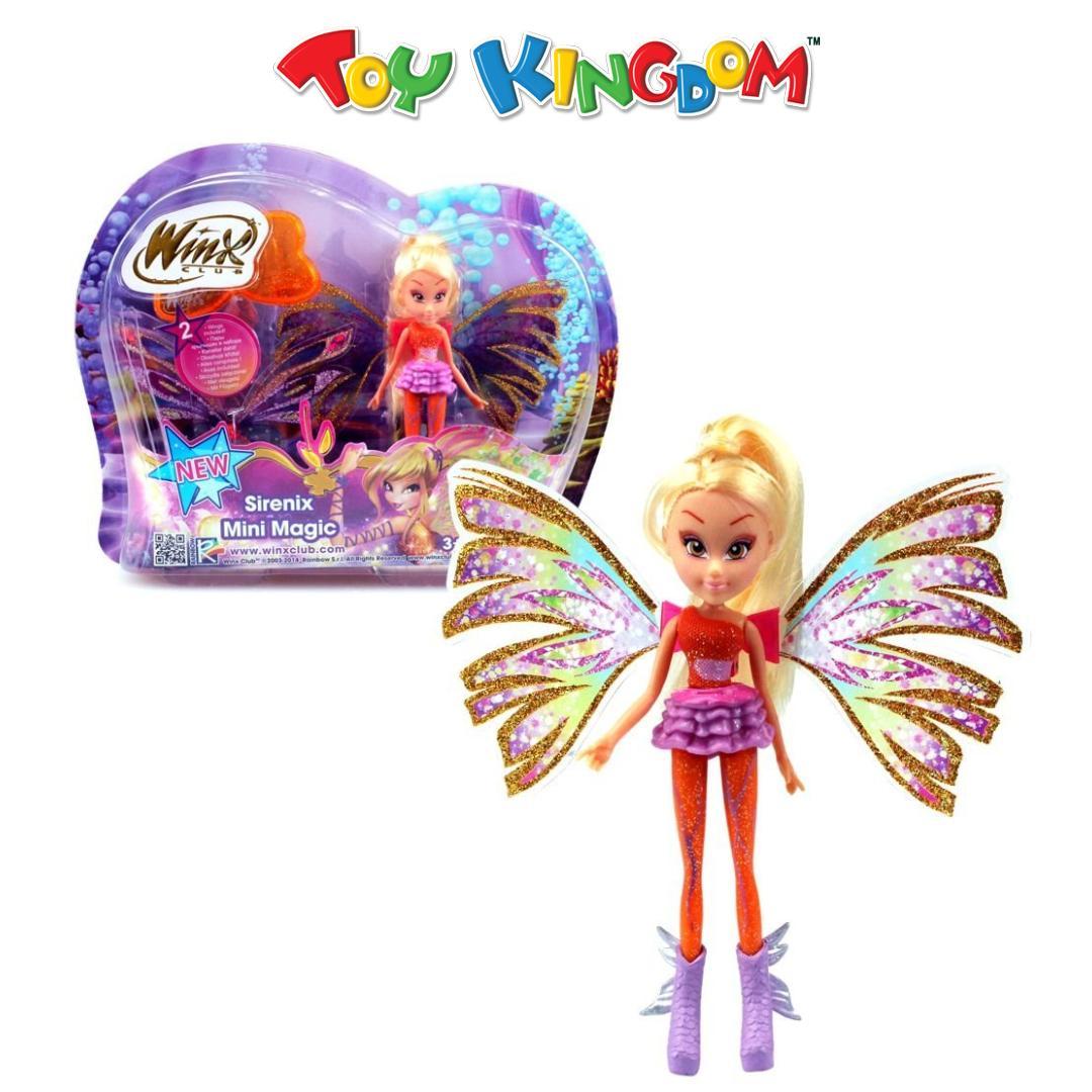 Winx Club Sirenix Mini Magic Stella Doll for Kids