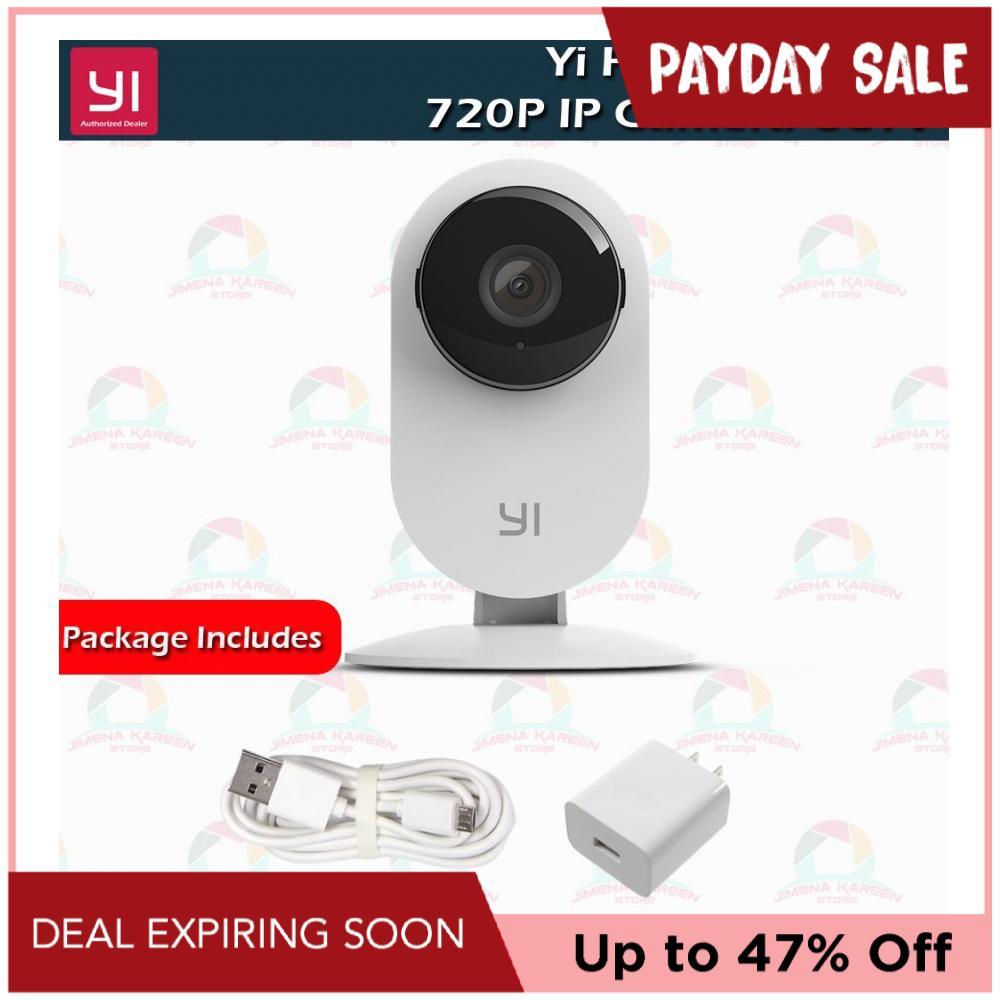 YI Home IP Security Camera CCTV Monitor 720P HD Video Monitor IP Wireless  Network Night Vision Alert Motion Detection International Version (White)