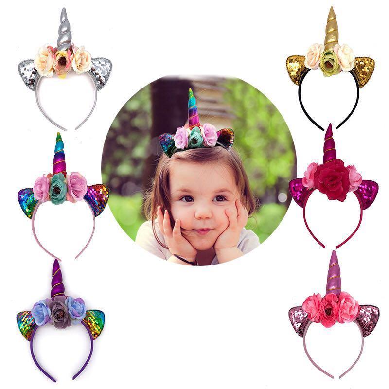 Costume Birthday Gift Headdress Photograph Props Car Ear Unicorn Baby Headband