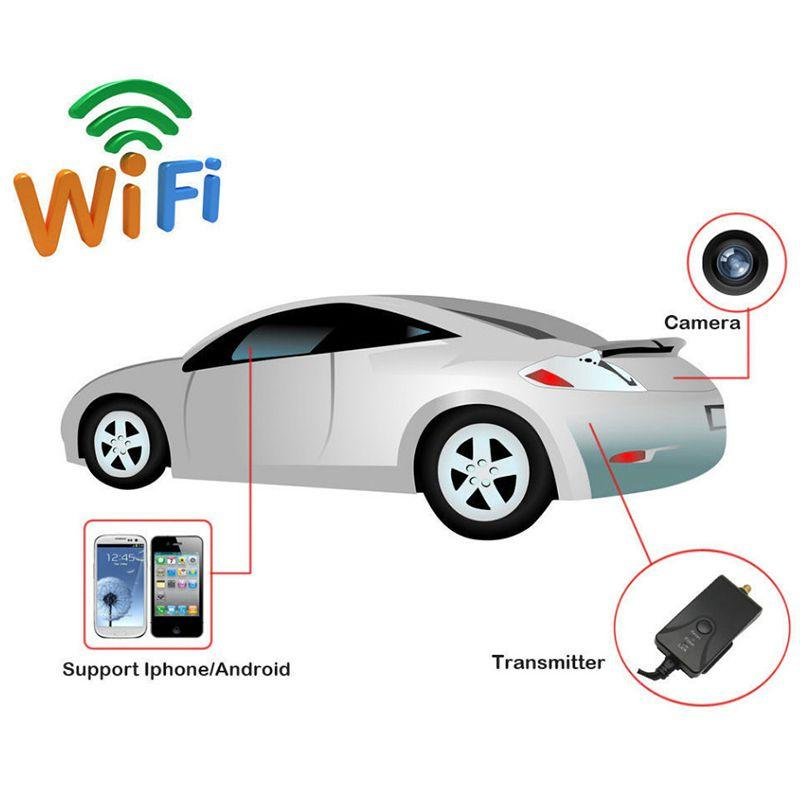 Car Backup Rearview Camera Wifi 903W Video Transmitter For iPhone Android Phone