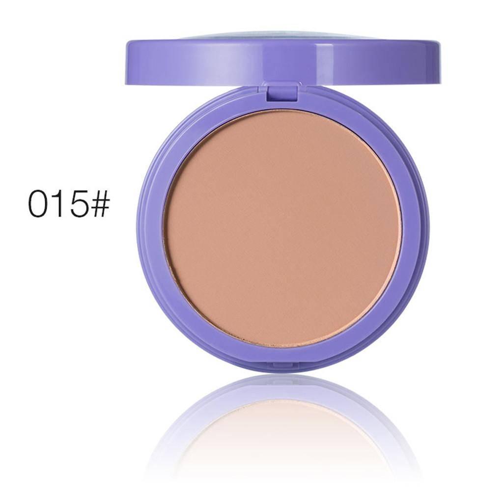 Eninshop Natural Face Powder Mineral Foundations Oil-control Brighten Concealer Whitening
