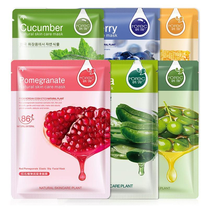 Mic Korean hydrating fruit and vegetable mask