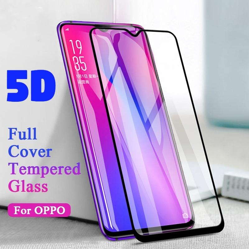 OPPO A83 5D Full Cover Tempered Glass, New 5D Curved Shockproof Tempered Glasses for OPPO