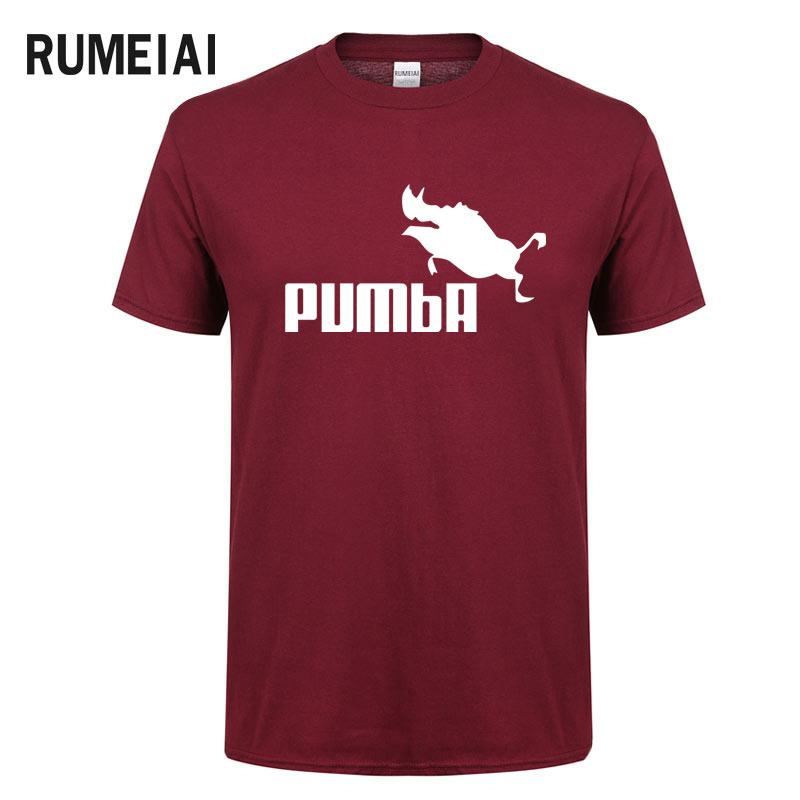 7a28a0775 2019 Anime funny tee cute t shirts homme Pumba men t-shirt short sleeves  cotton tops cool tshirt summer jersey costume t-shirt | Lazada Singapore