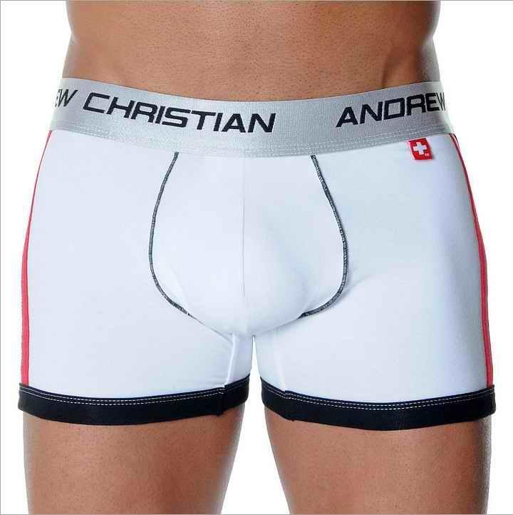 5ea693fb8ee Man Cotton Boxers Men boxer shorts Boy push up underwear with silver Garter