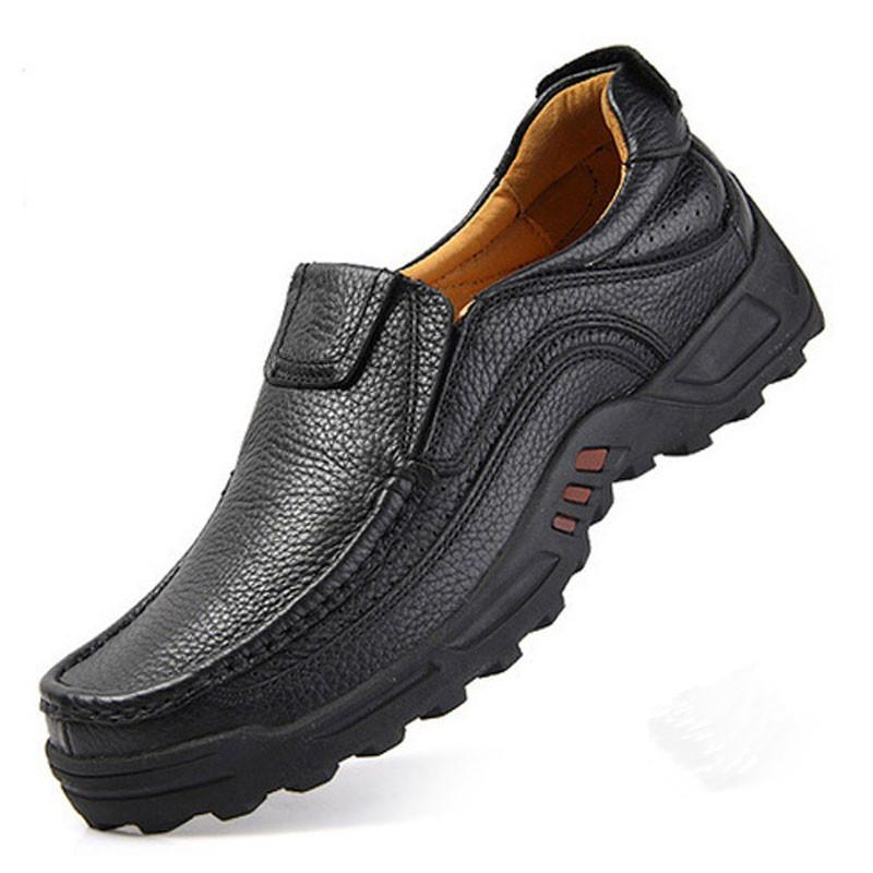 56ed44a79ac China. Men s leather anti-skid shoes