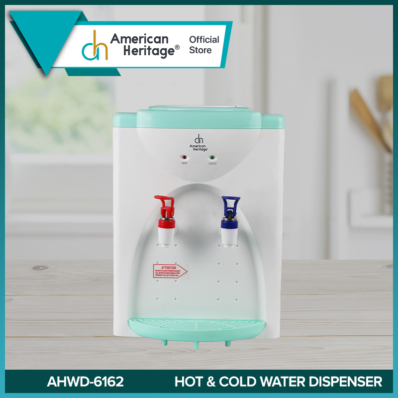 American Heritage Table Top Hot And Cold Water Dispenser Ahwd 6162 Lazada Ph