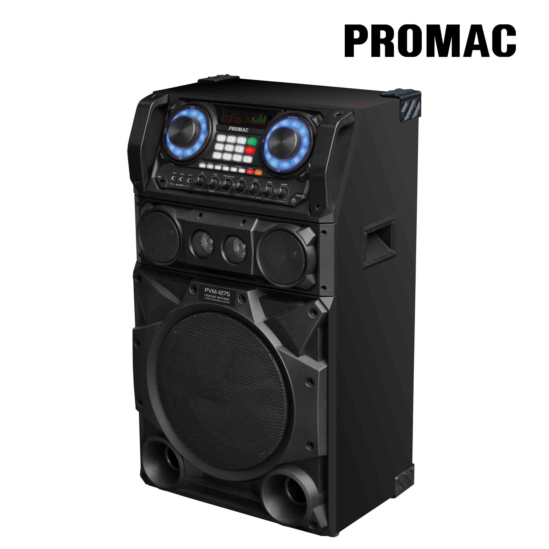 Promac PVM-1276 3-Way Speaker Videoke Machine