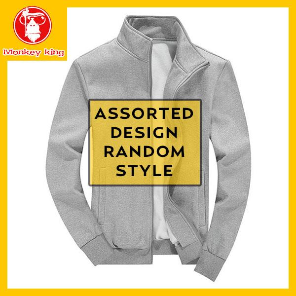 [monkey King] Assorted Jacket For Mens On Sale Unisex (random Delivery Of Colors And Patterns) Jas002 By Monkeyking.