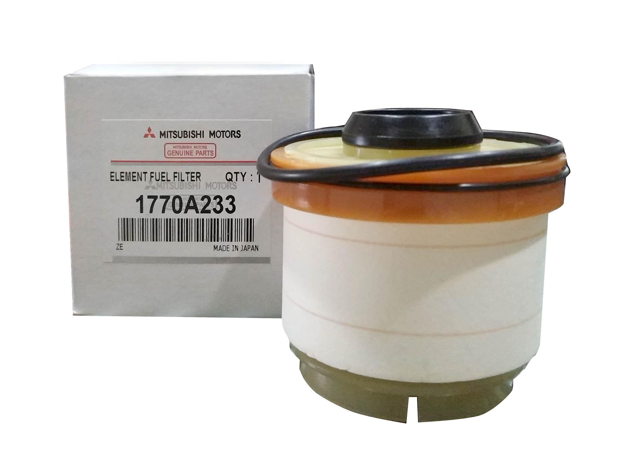 Mitsubishi Motors Genuine Fuel Filter Part No  1770A233 For Mitsubishi  Montero 2012 to 2018 ( Gen 2 and Gen 3 )