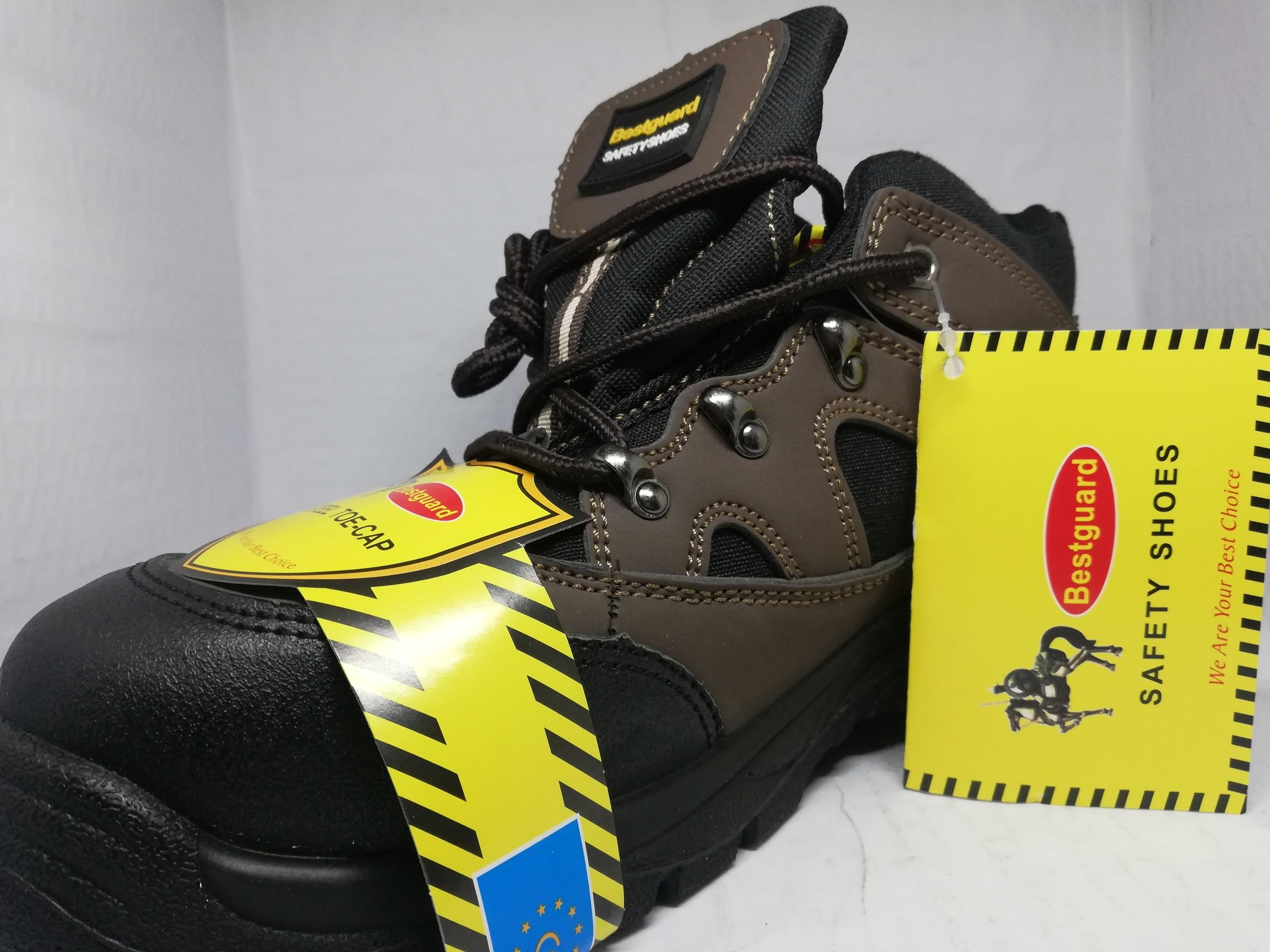 Steel Toe Safety Shoes High Cut (bestguard) By Robby Reseller Online.