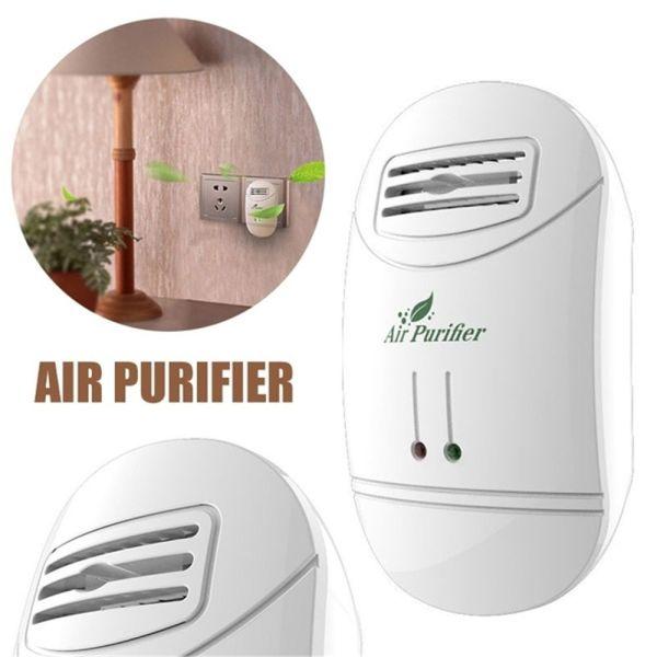 UGAINVI Cắm ổ cắm Nhà Máy tạo ion Máy loại bỏ Bộ khử mùi Khử trùng Bộ lọc diệt khuẩn Khói thuốc Máy lọc không khí Máy hút bụi
