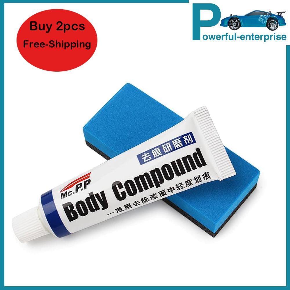 Car Body Compound Scratch Paint Care Mc308 Polishing Gringding Scratching Paste Repair Kit Set Fix It Auto Accessories By Powerful-Enterprise.