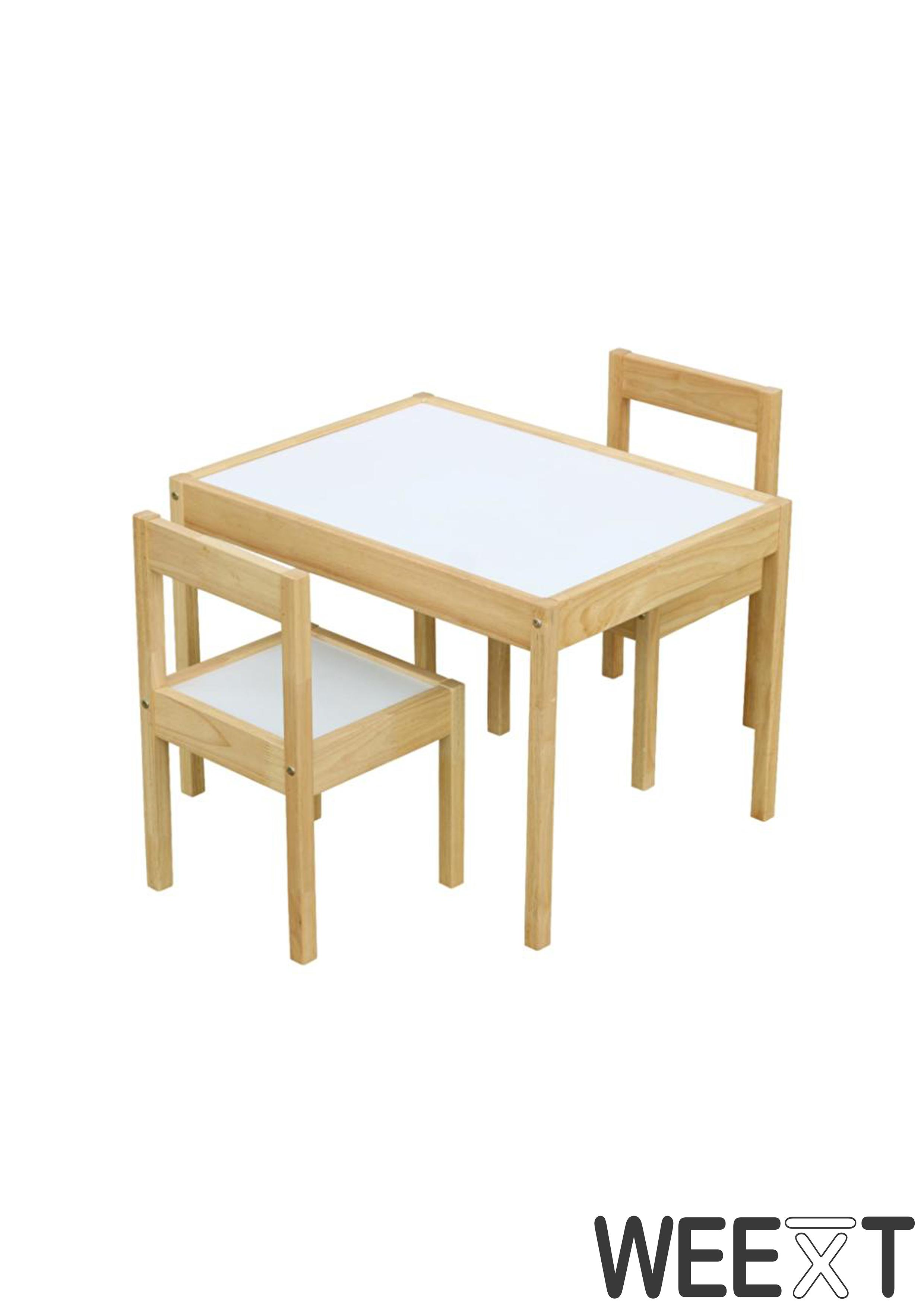 Weext Kid Study Table Set Natural By Weext Trading Corp Warehouse