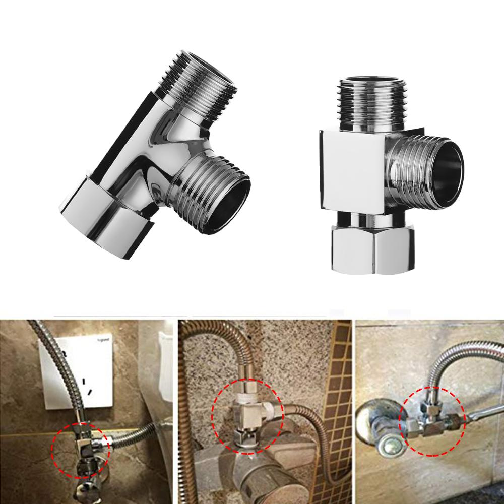 Faucet Valve Diverter Sink Valve Water Tap Faucet Splitter Adapter Newest Useful