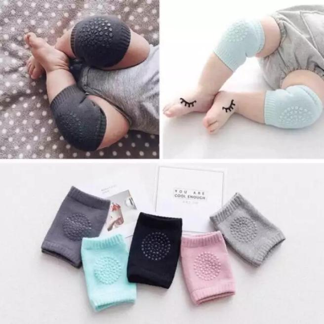 5 Pairs Baby Crawling Knee Pads Knee Pads Protection Socks By Big Boss Shop.