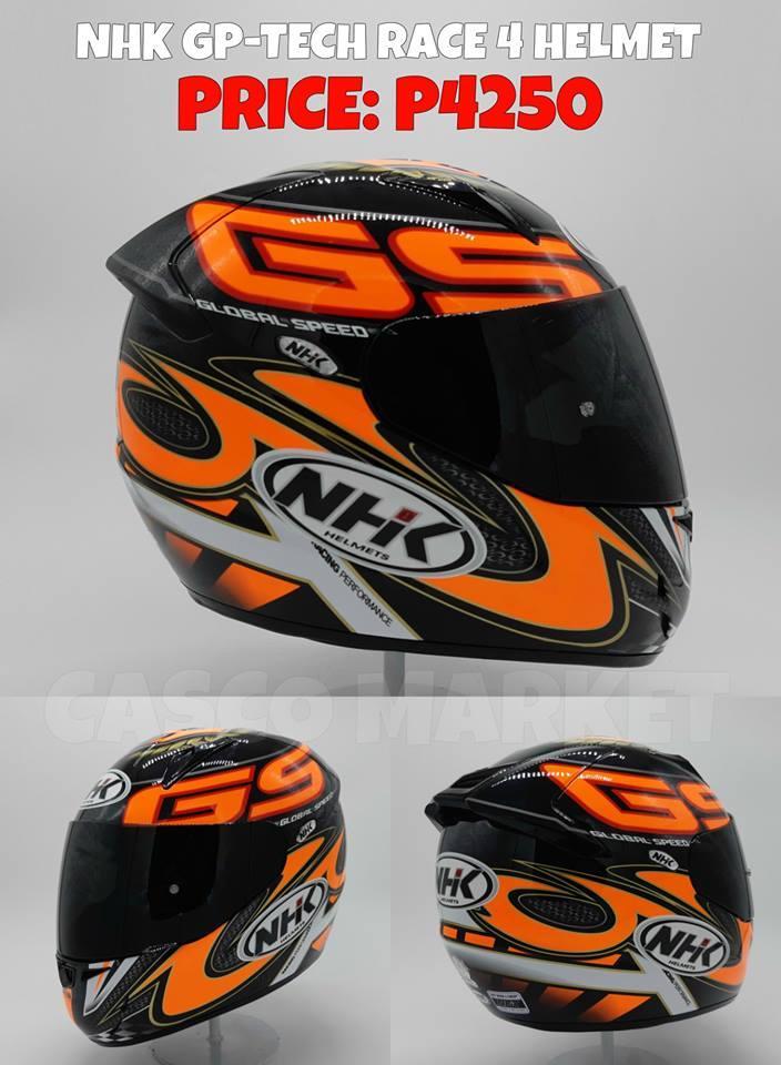 c80d11bb NHK GP TECH RACE 4 HELMET: Buy sell online Helmet with cheap price   Lazada  PH