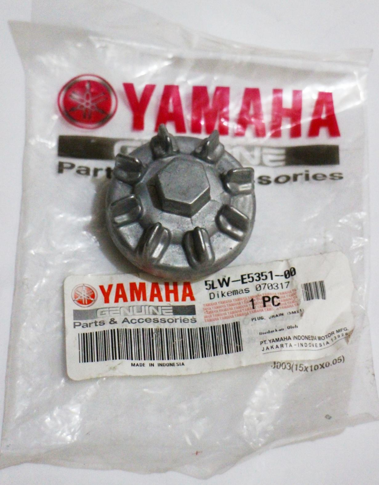 ORIGINAL YAMAHA DRAIN PLUG FOR MIO SPORTY, SOUL