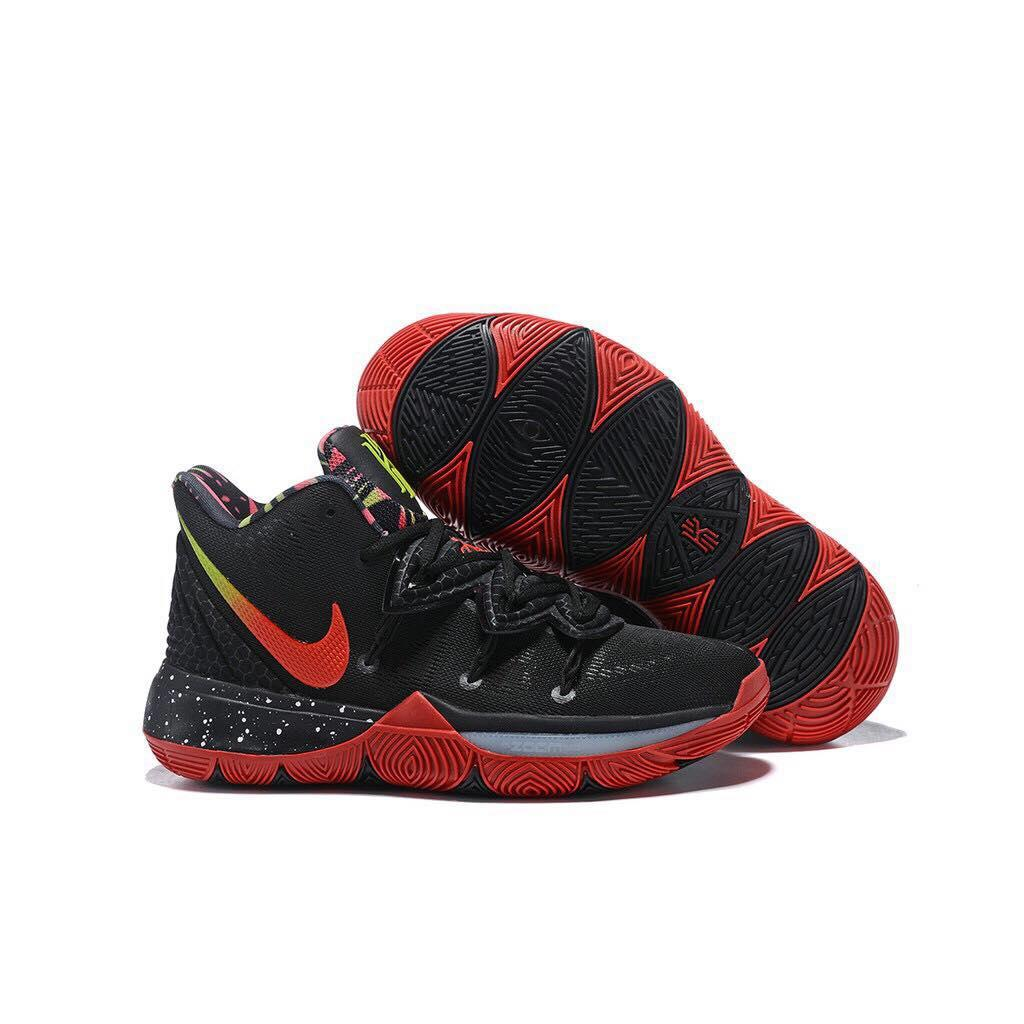 lowest price e2693 dc87e Kyrie 5 Men Basketball Shoes Black Red
