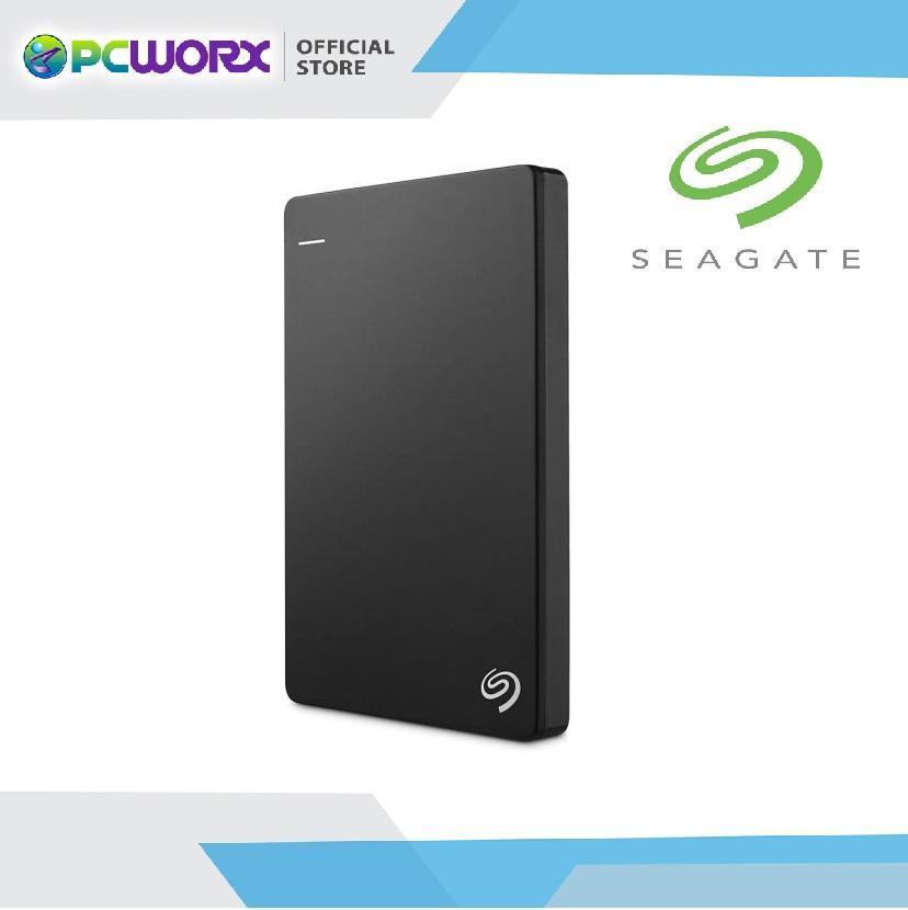 Seagate Backup Plus Slim 1TB Portable External Hard Drive USB 3.0 for Windows and Mac (