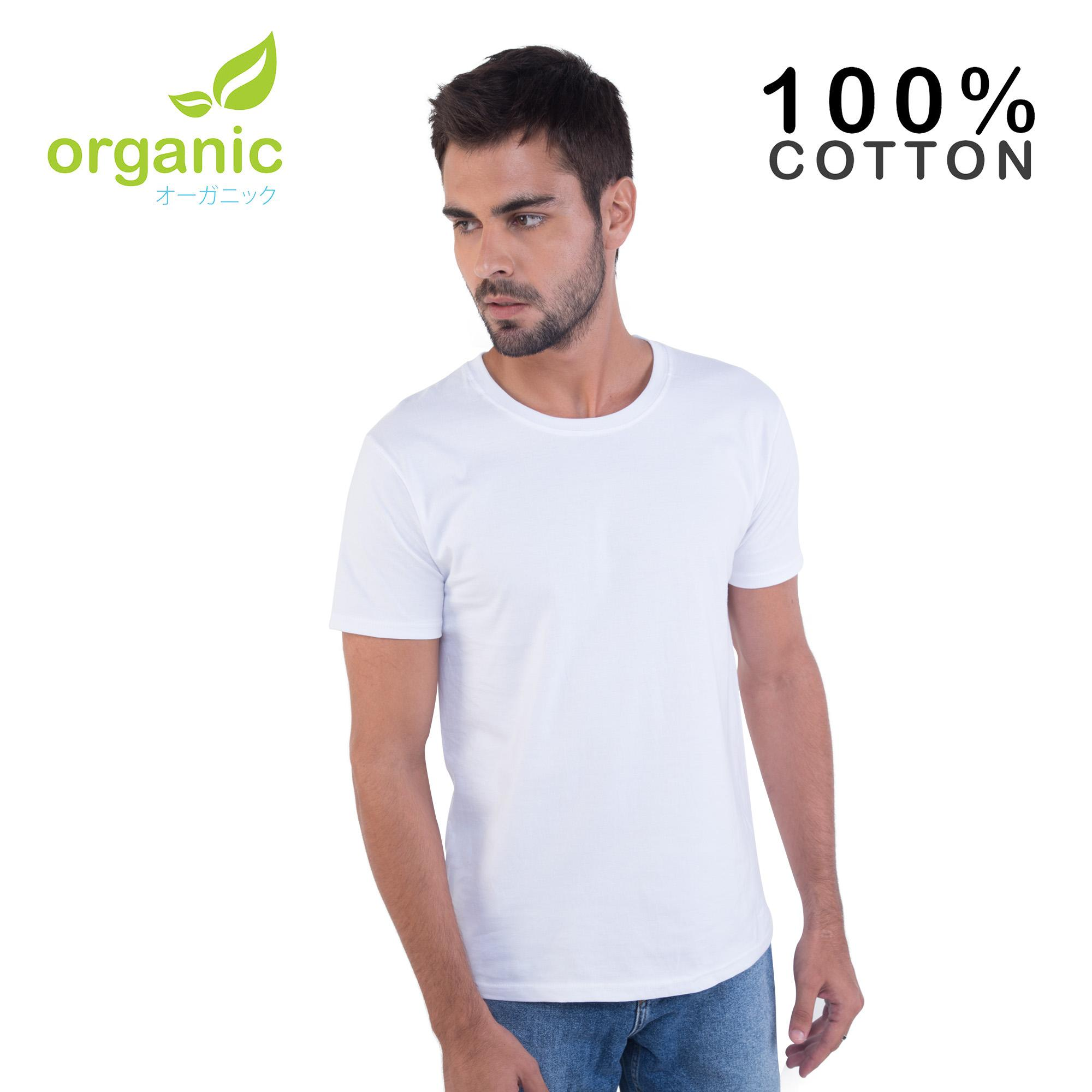 f0049ba81d9acc Organic Mens 100% Cotton Round neck Tees t shirt tshirt shirts tshirts tee  tops top