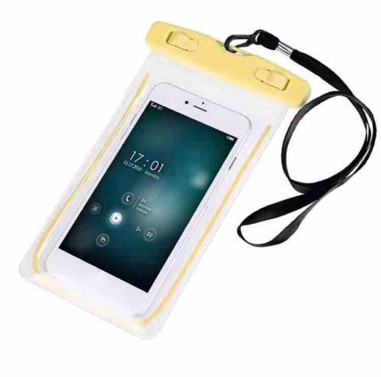 Glow in the Dark Luminous Waterproof phone Case Cover Underwater Dry Bag Pouch for iPhone and smart phone image on snachetto.com