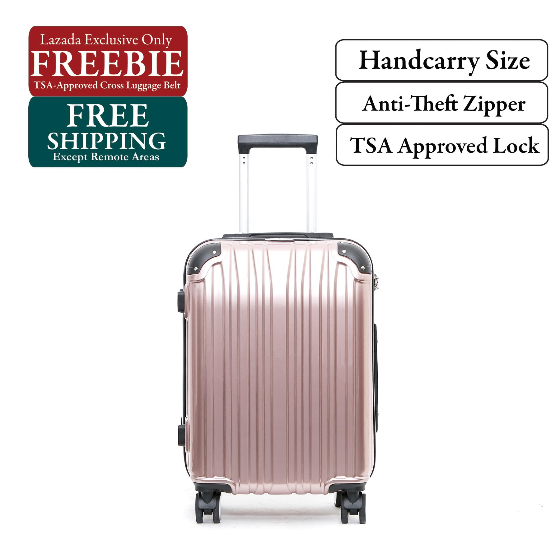 British Knight BLF201ZT Rose Gold Small (20 Inch) Luggage with TSA Lock edc34aef009e0