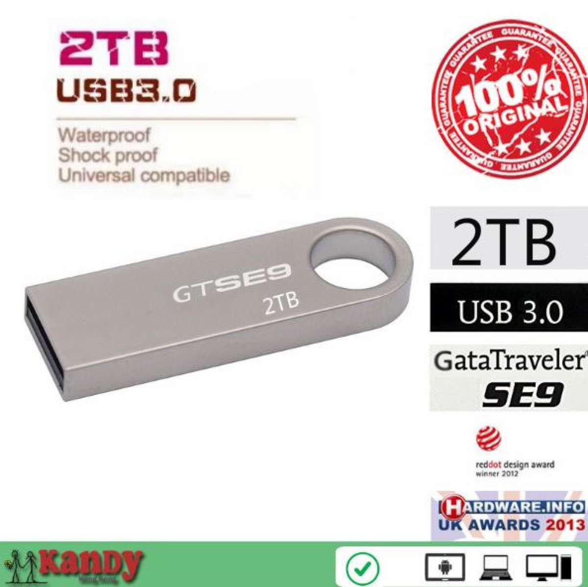USB Flash Drive 3.0 2TB Metal Flash Drive Pen High Speed Pen Drive Flash Pendrive USB Stick Memory For PC image