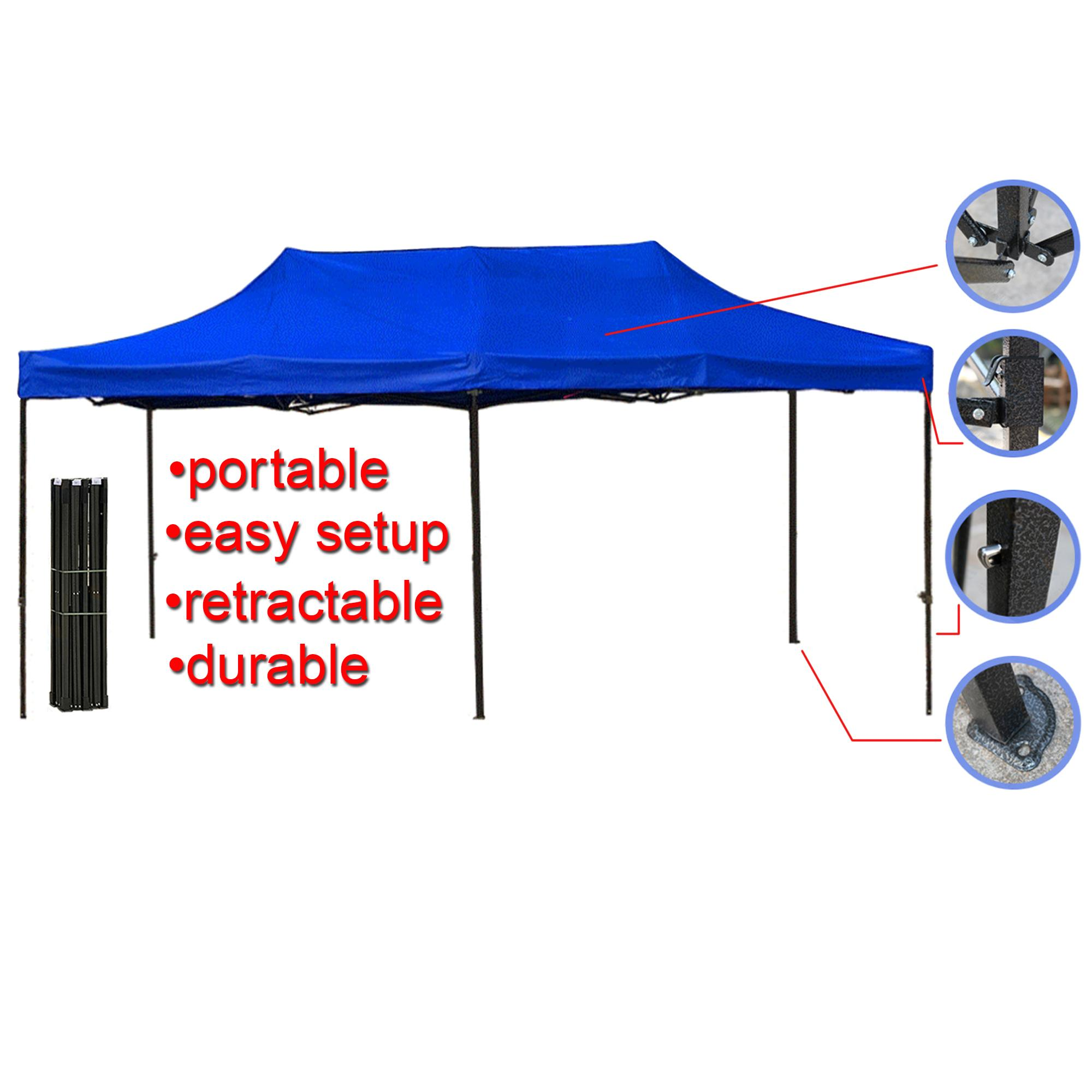 3x6 Meter Canopy Tent Gazebo Tent Retractable Tent Frame Included Lazada Ph