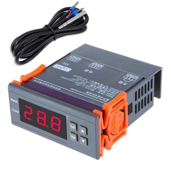 Smart Sensor 200~240V Digital Temperature Controller Thermocouple -40°C ~ 120°C Thermostat