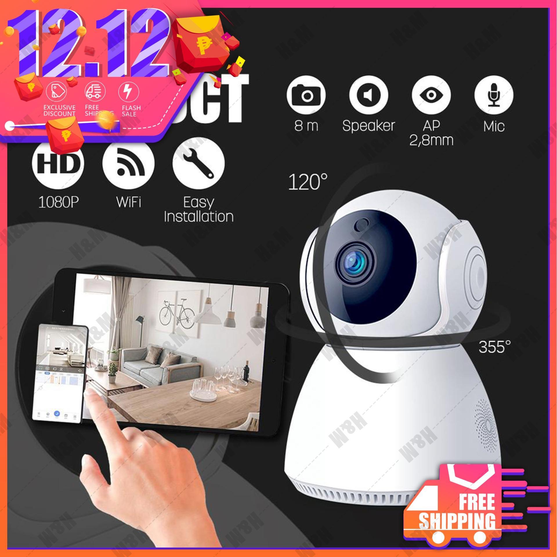 ✅Hot Selling CCTV 1080P Home Security IP Camera HD WiFi Camera Wireless ip  cam IP Security Cameras Supports external 64GB MicroSD card