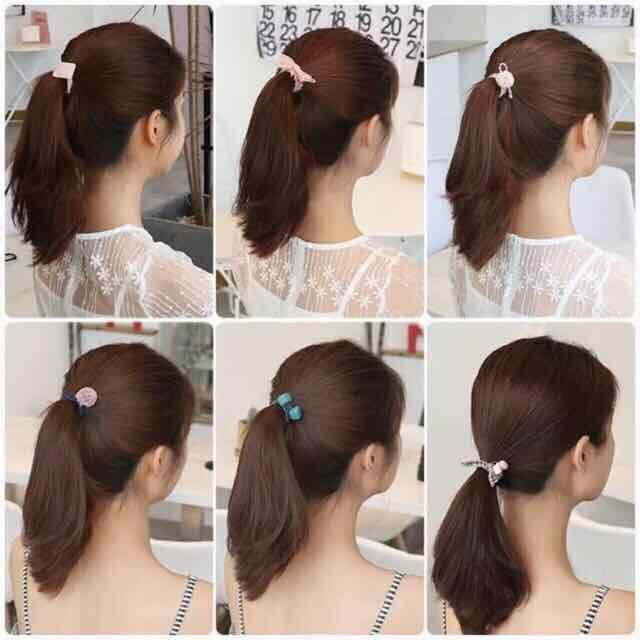 12Pcs//Set Elastic Rope Ring Hairband Girls Women Hair Wand Tie Ponytail HolderWL