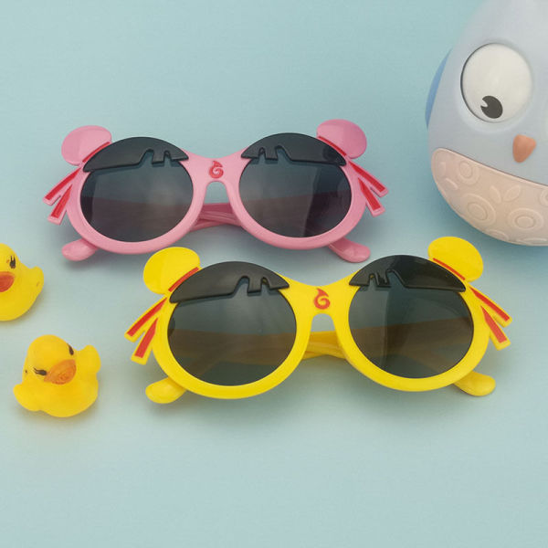 Giá bán Kính râm của trẻ em dễ thương của trẻ em phim hoạt hình đeo kính cực cực tím grfwsdhkuuh