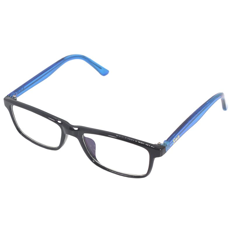 ea74f56167a1 Kids Replaceable Anti-Radiation Clear Lens – Black Blue with Free Case
