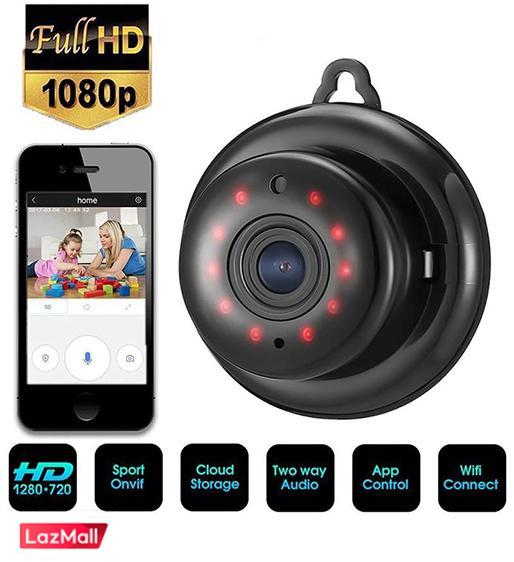 Q7 CCTV Wireless Mini WIFI Infrared Light Night Vision Vision Smart Home  Security Camera CCTV1080P HD Monitor