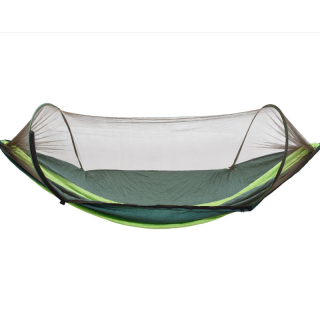 Camping Hammock with Net Lightweight Double Hammock Portable Hammocks for Indoor Outdoor Hiking Camping thumbnail