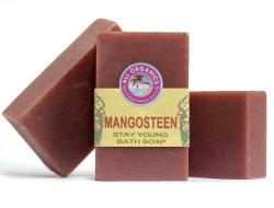 Milea Organic Mangosteen Anti-Aging Soap 100g set of 3