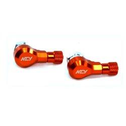 A034-Ncy Tire Valve (Orange)