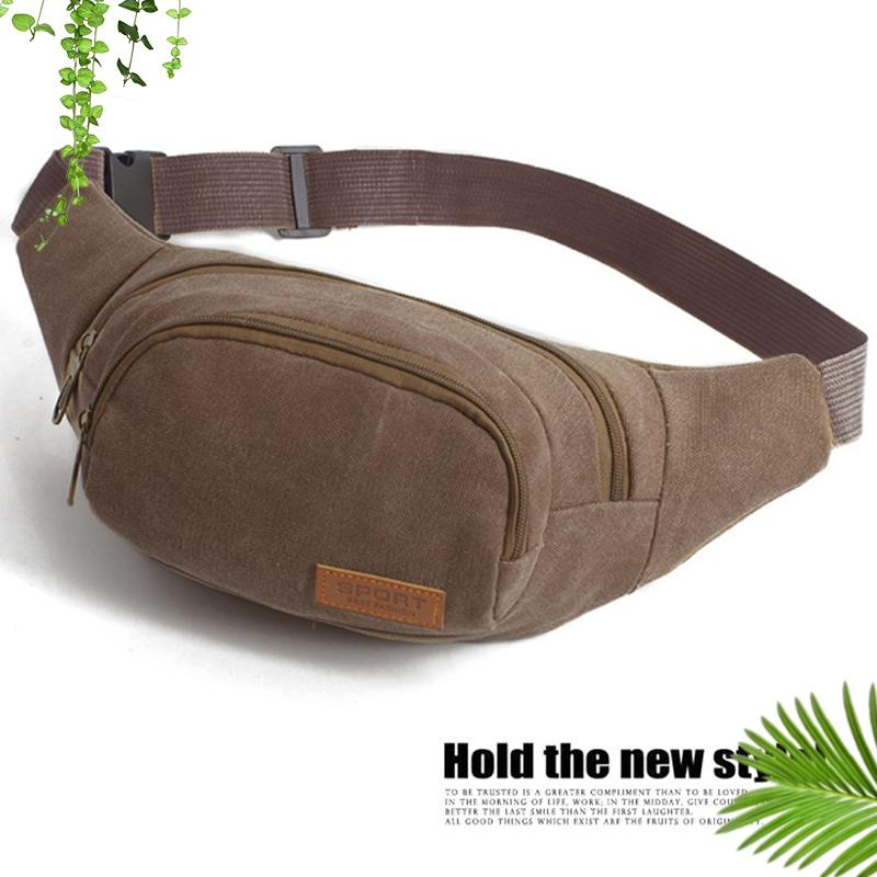 Men Waist Packs Oxford Waterproof Material Sport Crossbody Bag image on snachetto.com