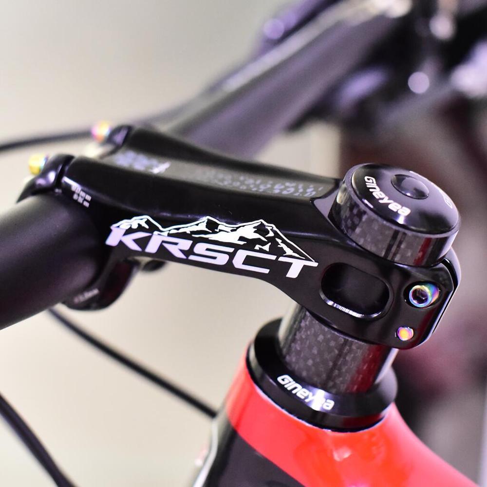 KRSCT CNC Bicycle MTB Stem Road Bike Stem MTB 20 Degree 28.6*31.8*90mm Bike Stem