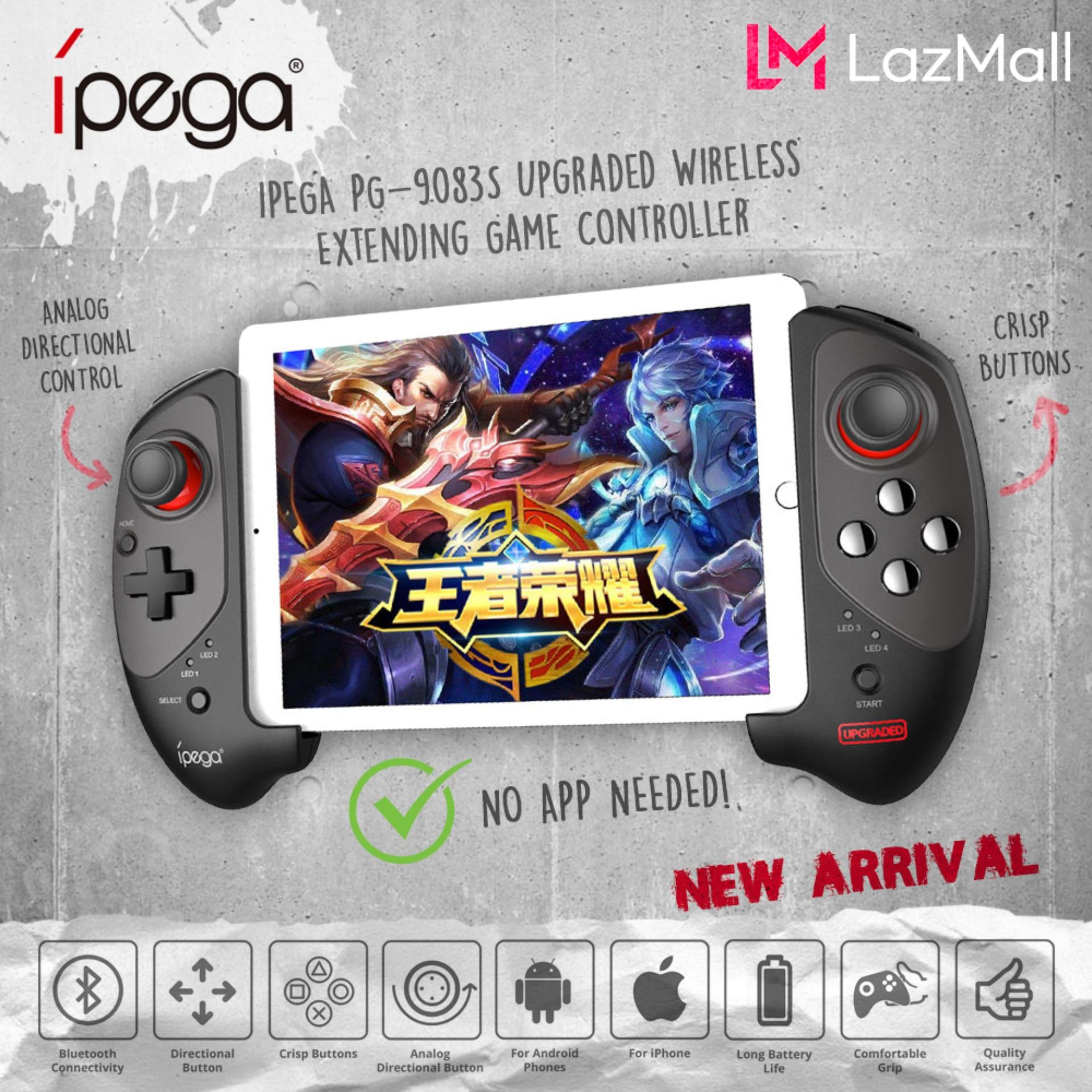 Ipega PG- 9083s Upgraded PG- 9083 Wireless Retractable Controller for 5-10