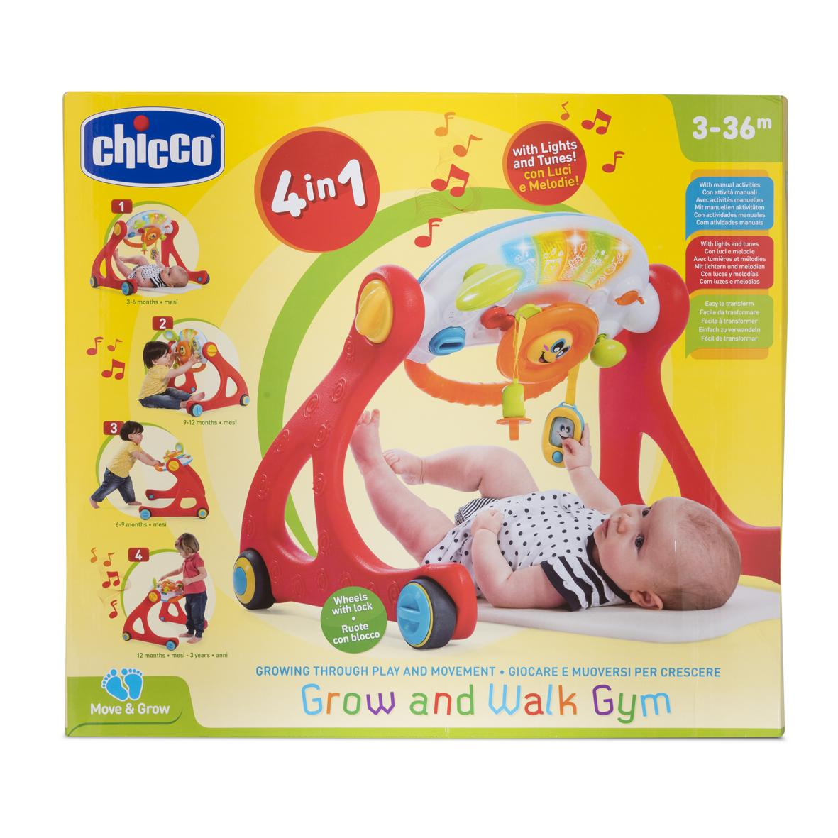 Chicco Grow And Walk Gym 4-In-1 By Ollie & Co Online Shop2.